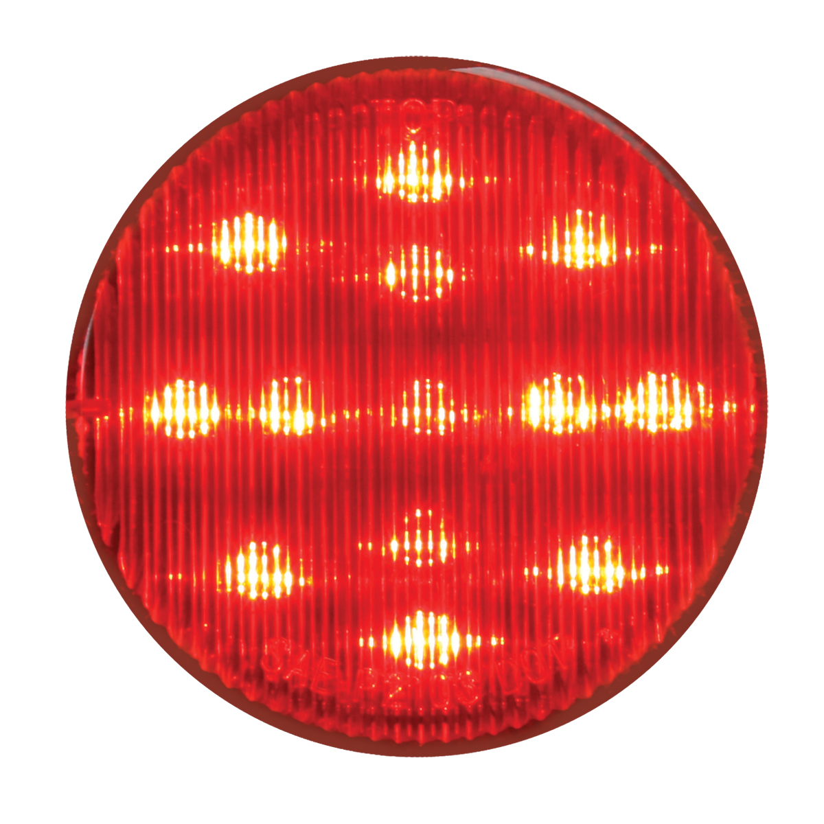 #79311 High Count LED Red/Red - Flat