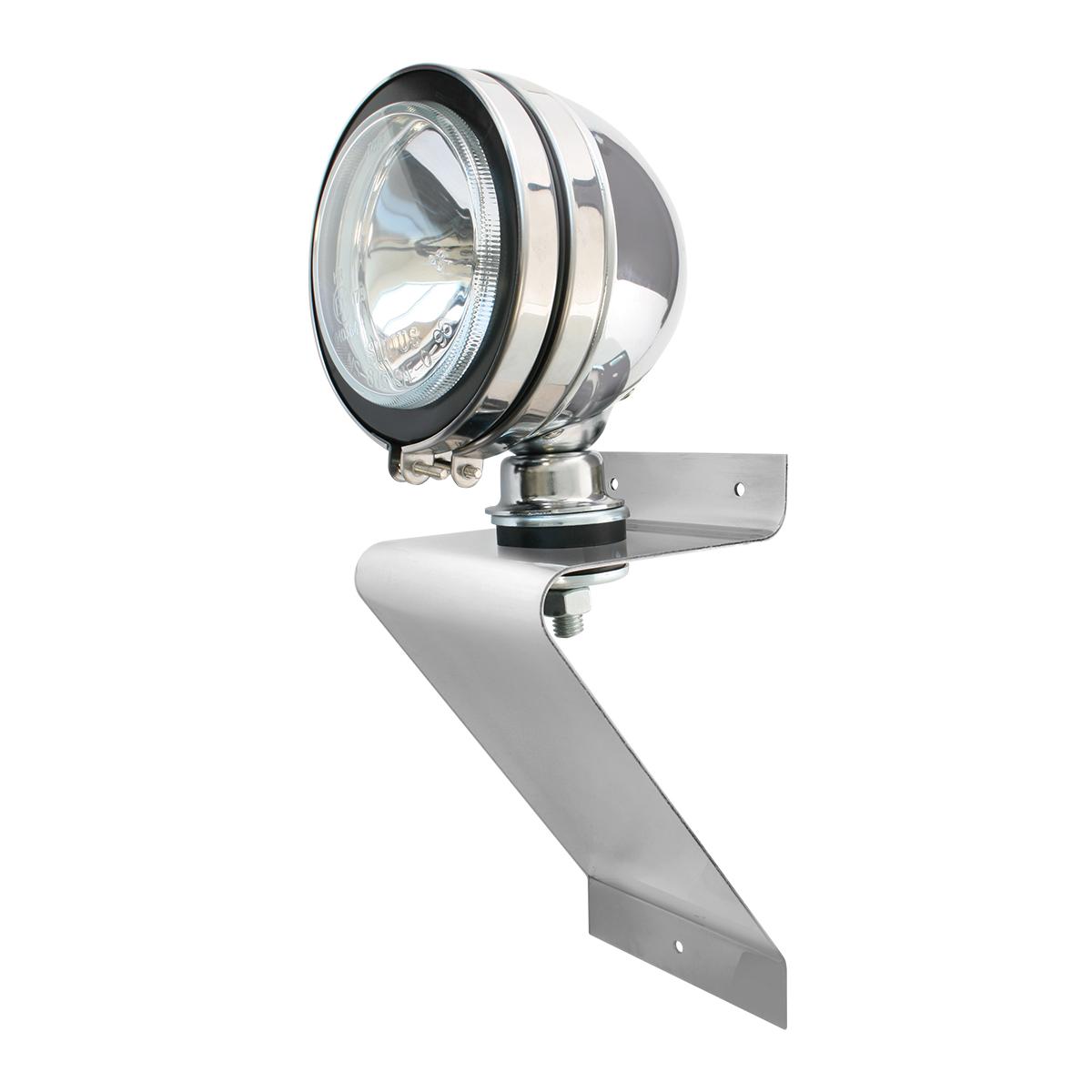 "Large ""Z"" Shape Light Bracket Kits w/5"" Chrome Off-road Light #80630"