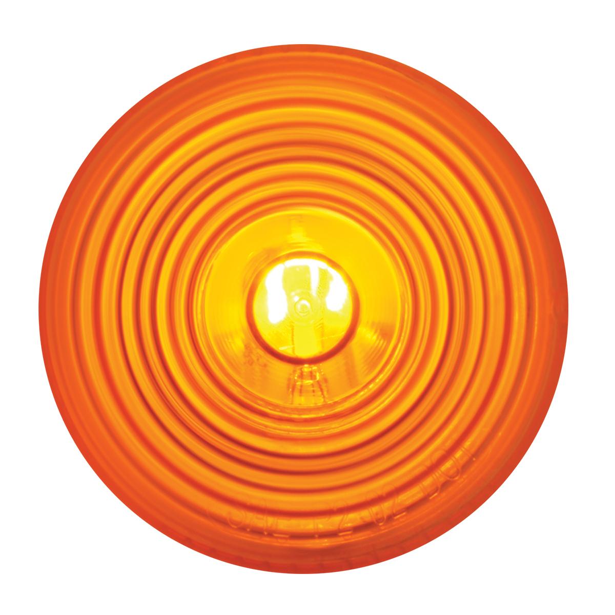 "#80723 2"" Sealed Incandescent Flat Amber/Amber Light"