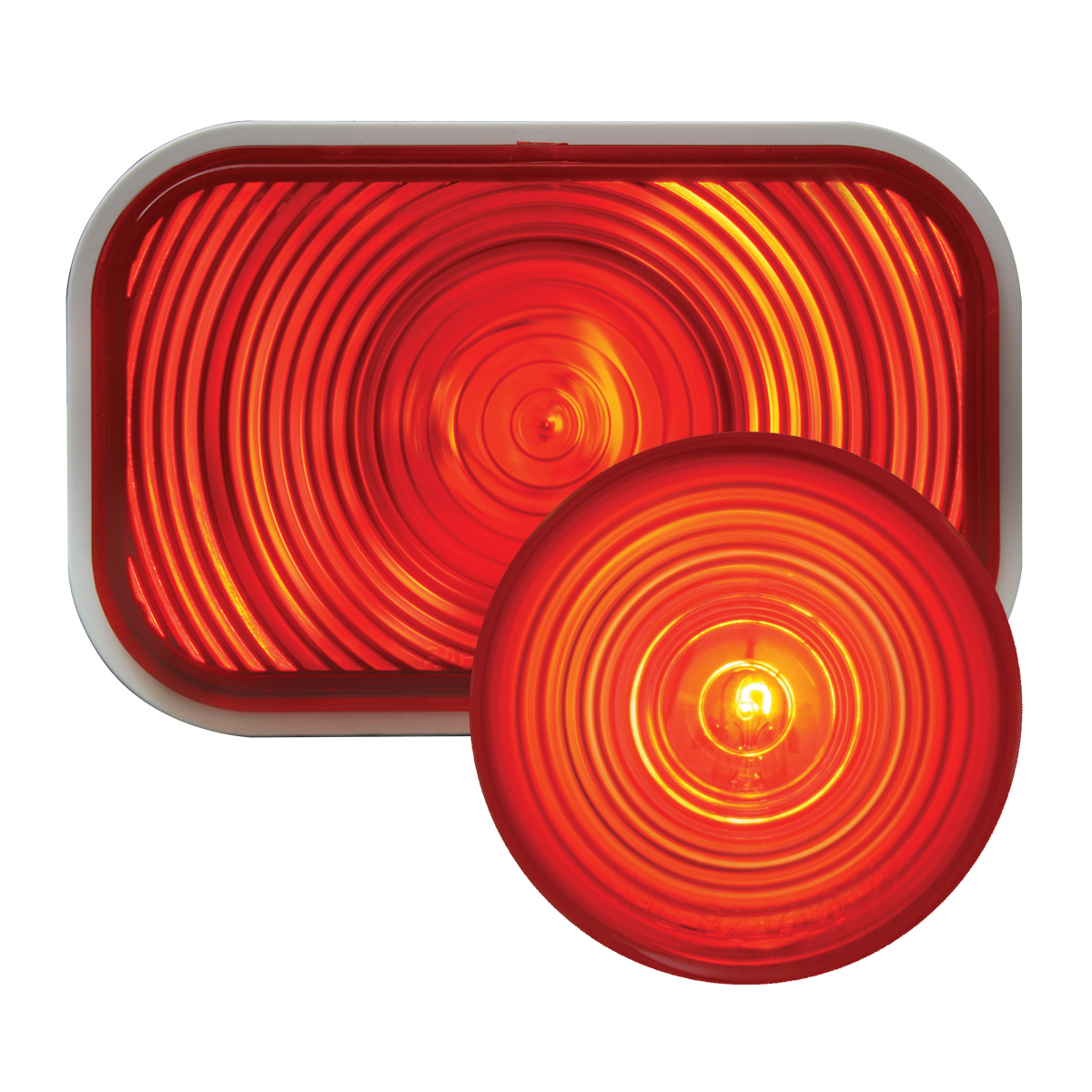 #80785/#78315 Incandescent Red/Red - Flat