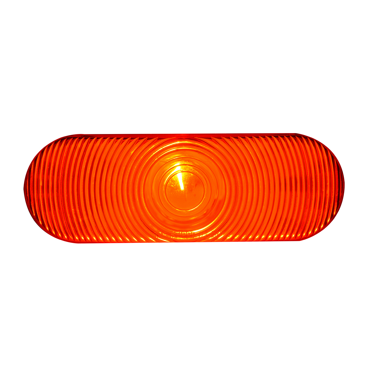 #80805 Oval Sealed Incandescent Flat Red/Red Lights