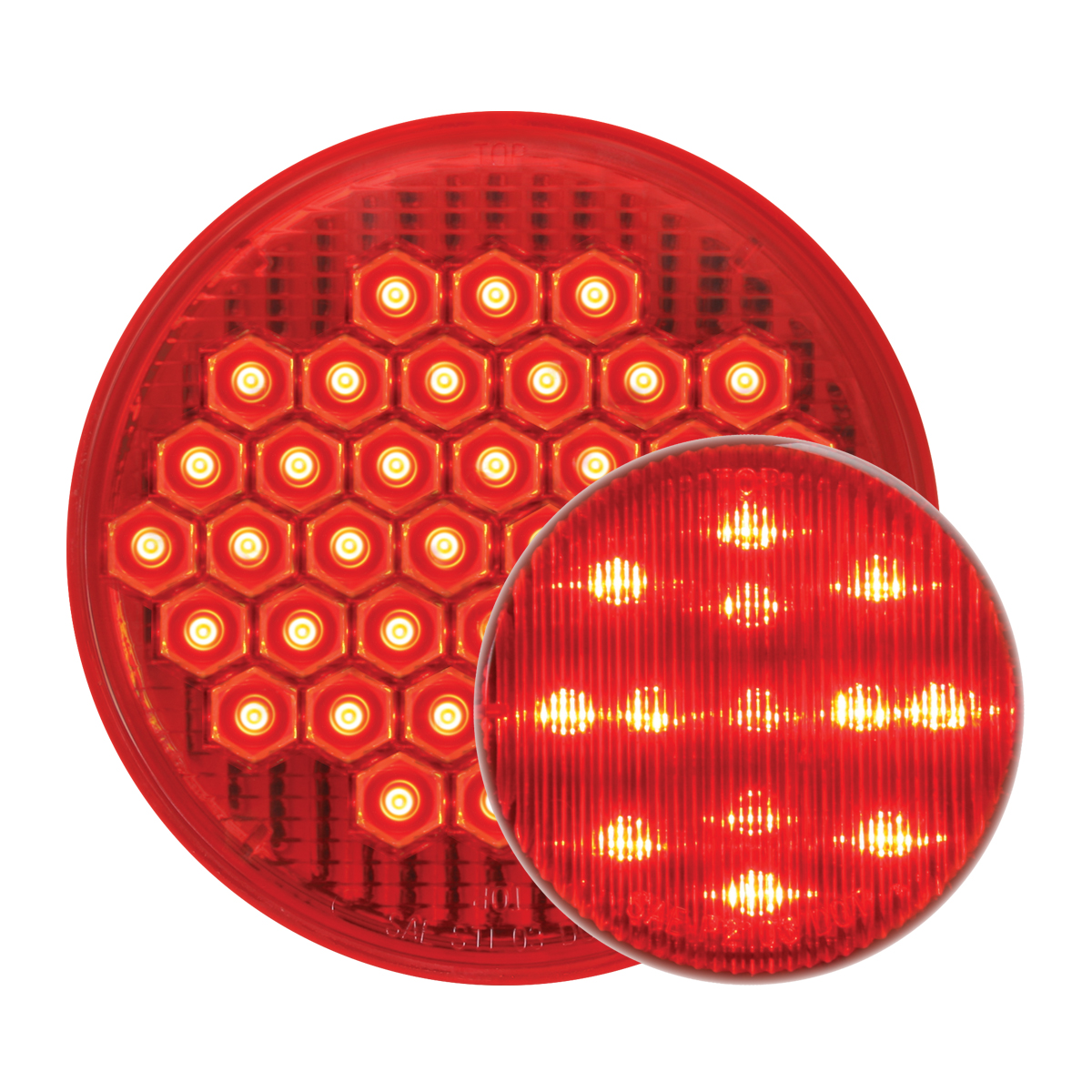 #87700/#79281 High Count LED Flat - Red/Red