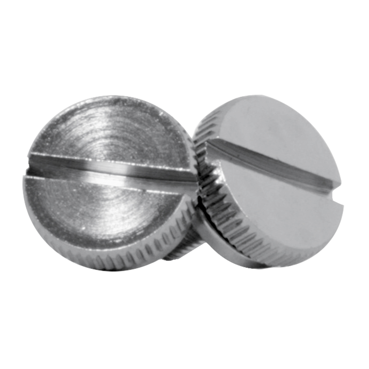 Chrome Plated Steel 4mm C.B. Screw Knobs