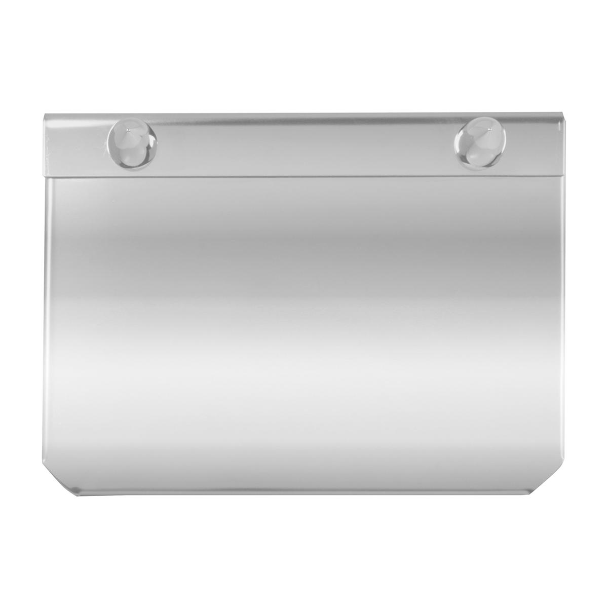 Stainless Steel Permit Sticker Holder