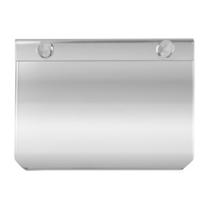 Stainless Steel Permit Sticker Holder