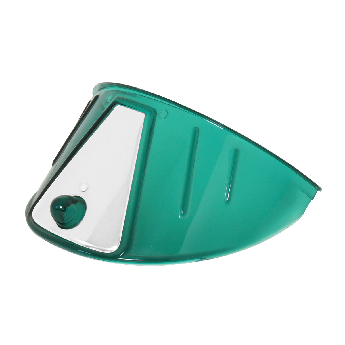 "7"" Acrylic Headlight Visor - Green"