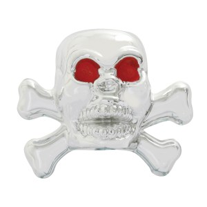 Skull Tire Valve Stem Covers