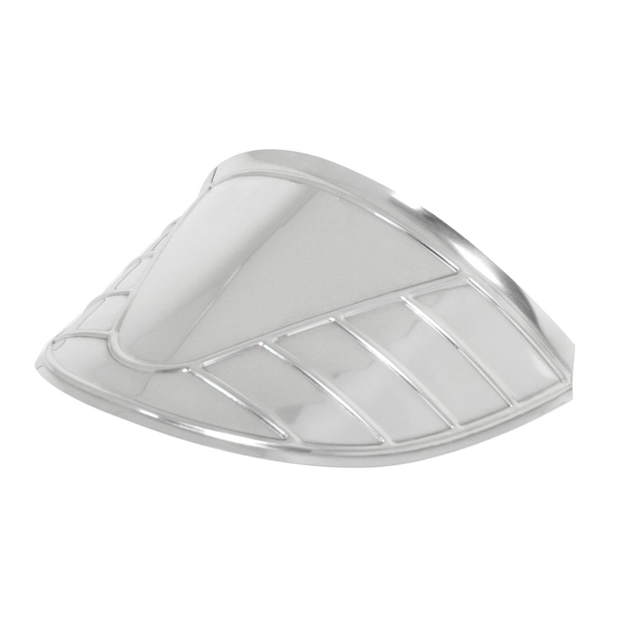 """7"""" Stainless Steel Headlight Visor"""
