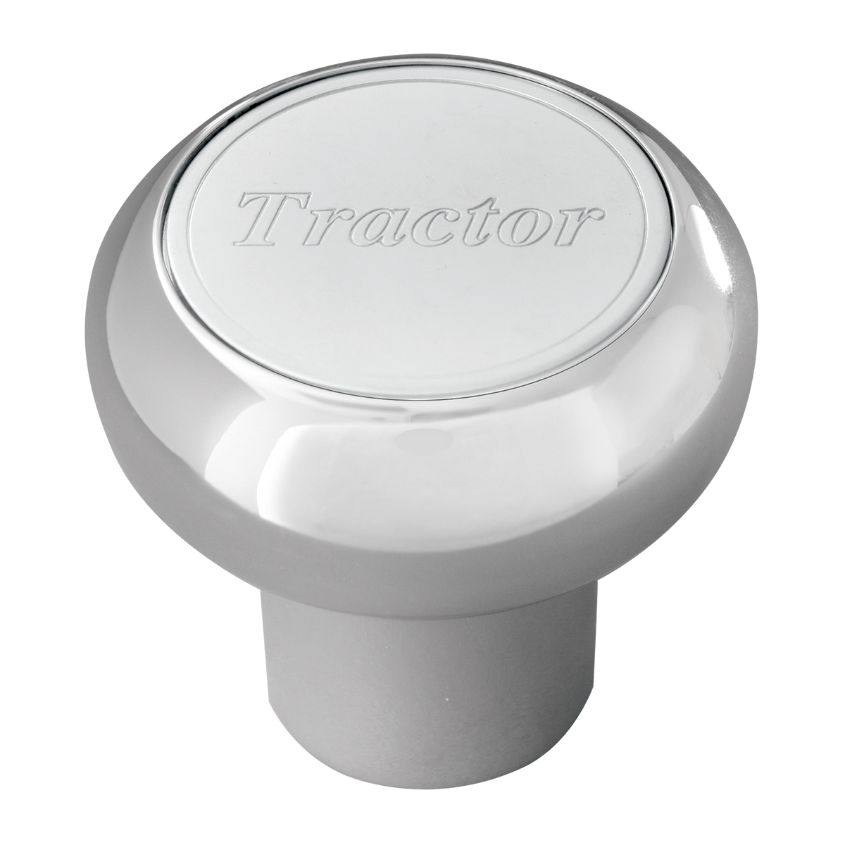 95380 Chrome Aluminum Tractor Screw-In Air Valve Control Knob for KW