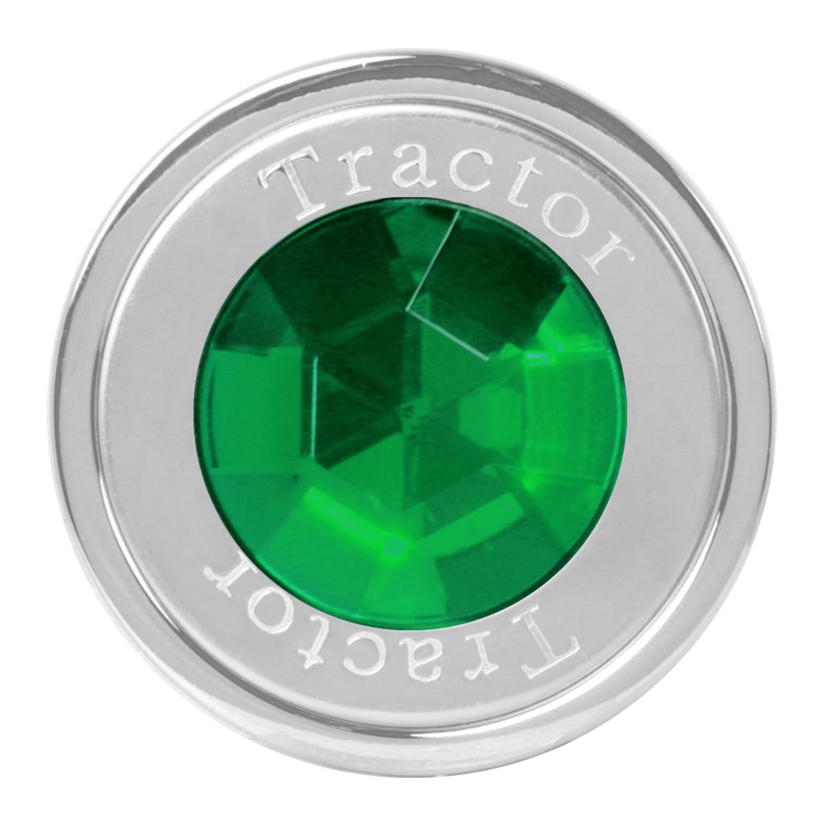 95833 Tractor Air Control Knob w/ Green Crystal