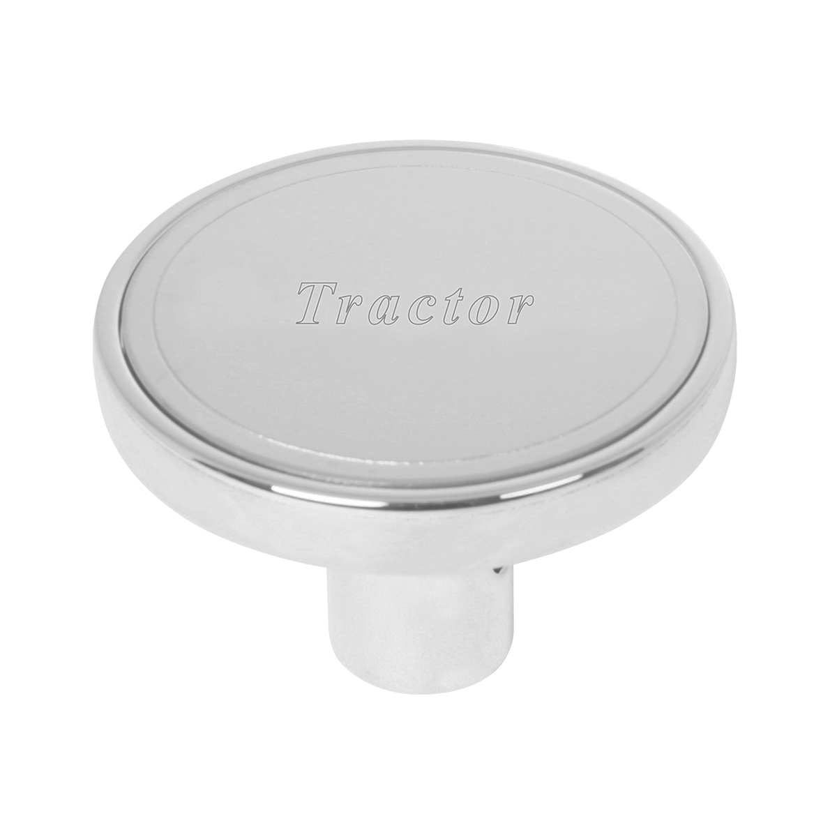"#96227 Air Valve Control Knob w/Stainless Steel Plate (1 ¹⁵∕₁₆"" dia. x 1 ⁵∕₁₆"" (H) x ⅜"" I.D. ) - Tractor"