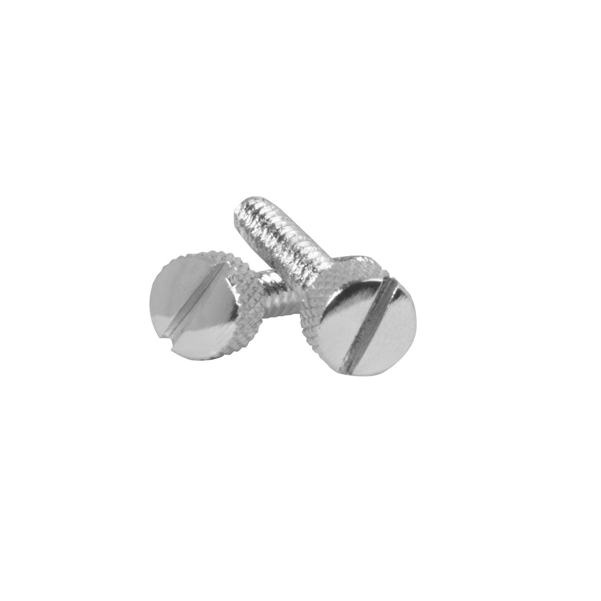 67168 FLT Chrome Steel Small Dash Screws