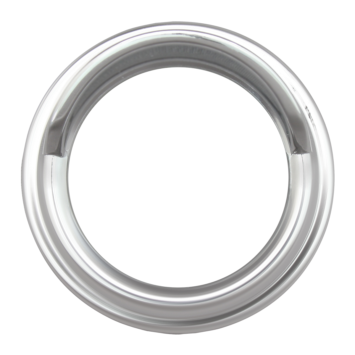 68391 Chrome Plastic Small Gauge Cover for Pete