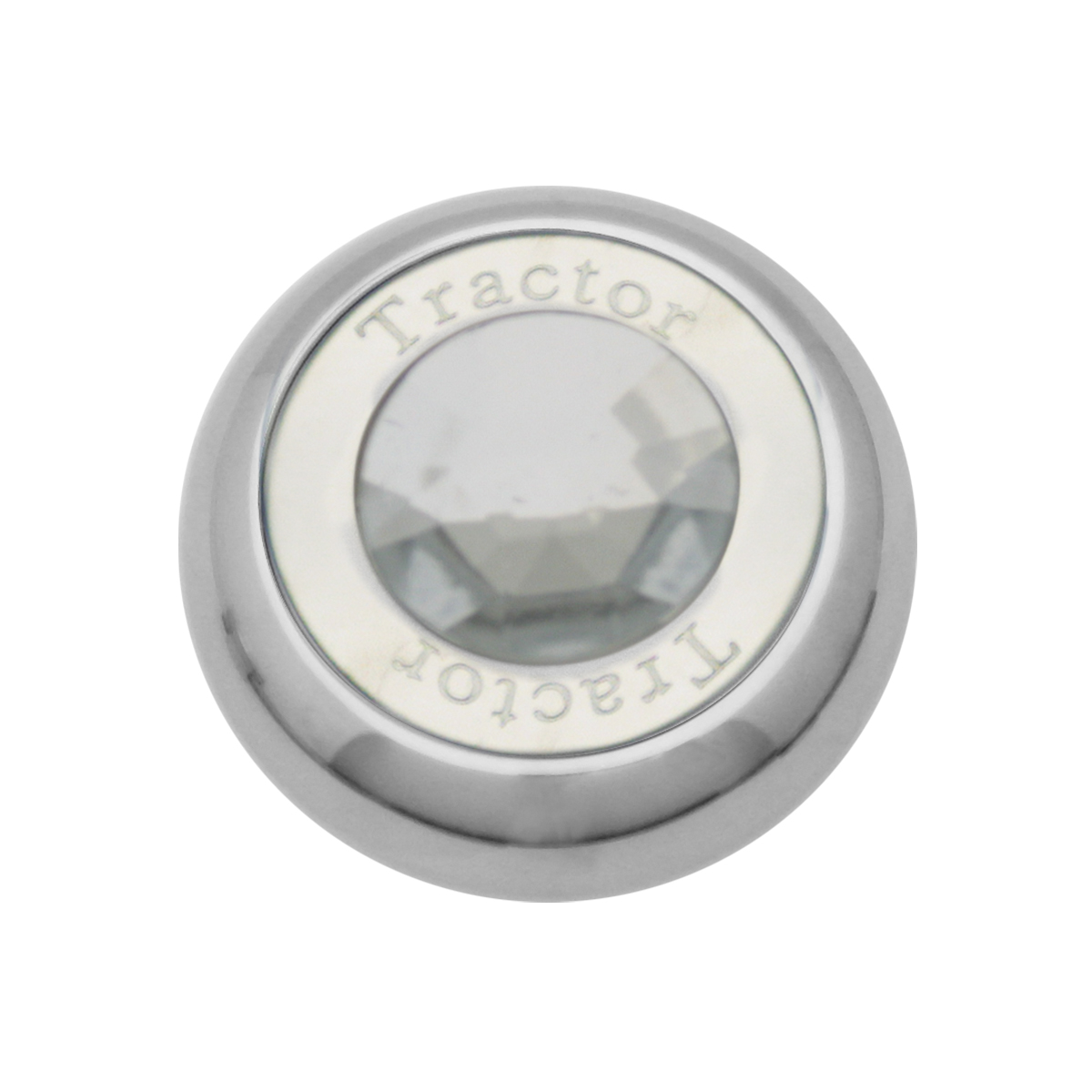 95372 Chrome Screw-In Air Valve Control Knob w/ Crystal