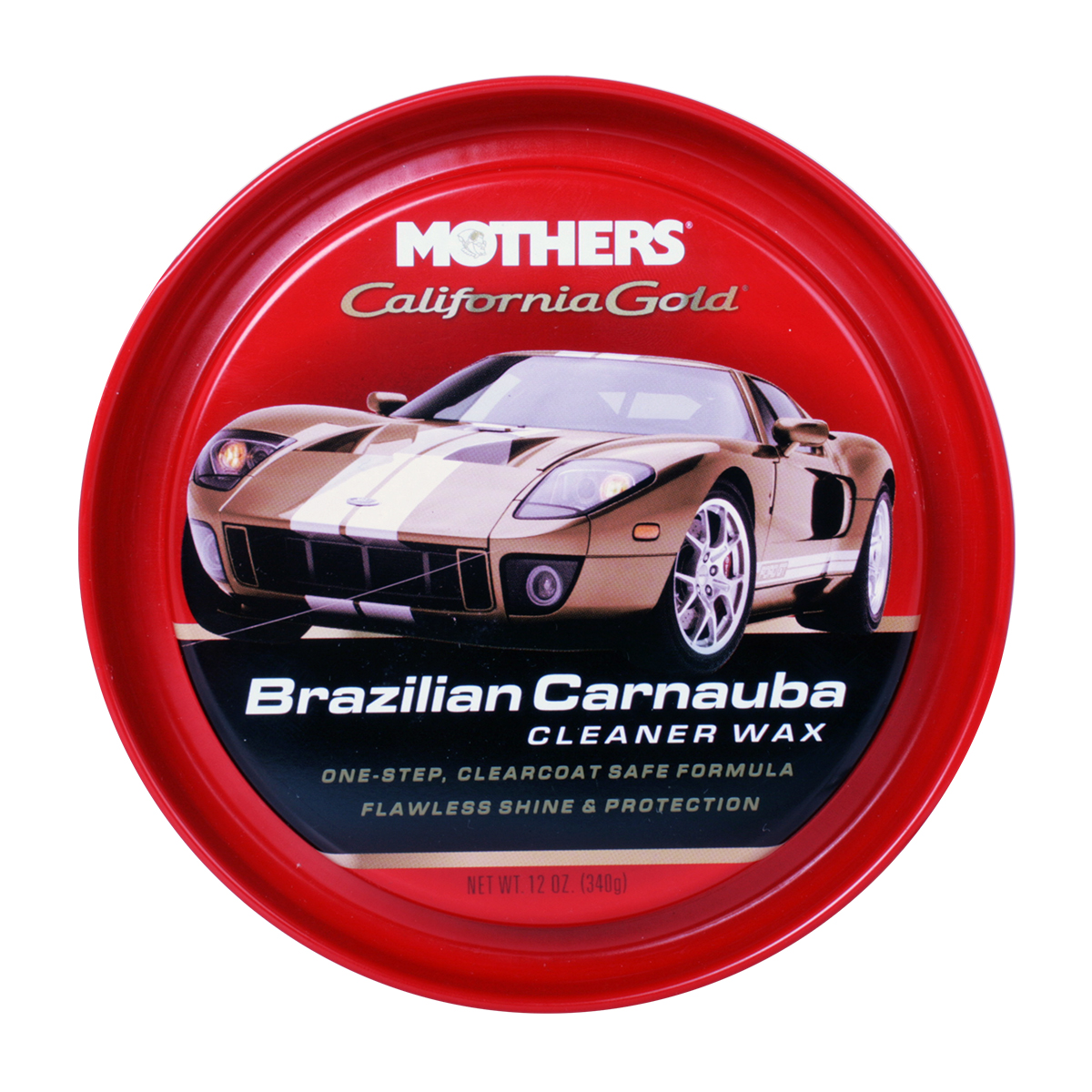 98275 Mothers California Gold Brazilian Carnauba Cleaner Wax