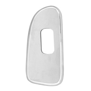 52011 Chrome Plastic Window Switch Trim w/ 1 Opening (Passenger Side) for Pete