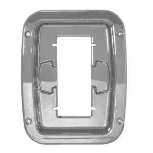 52017 Chrome Plastic Ventilator Box Cover for Pete Sleeper w/ Vent Door