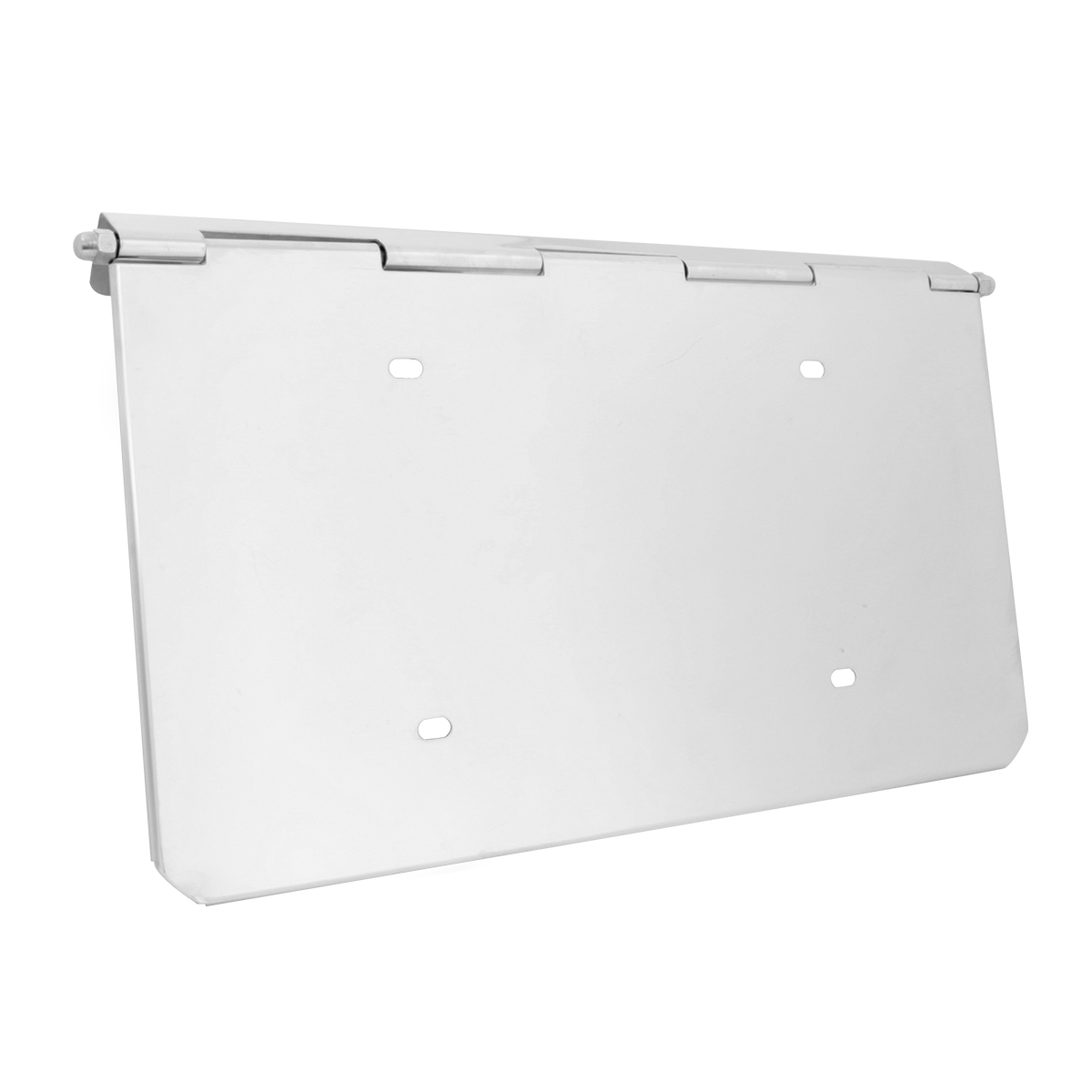 60541 Pete Stainless Steel Bumper License Plate Holder