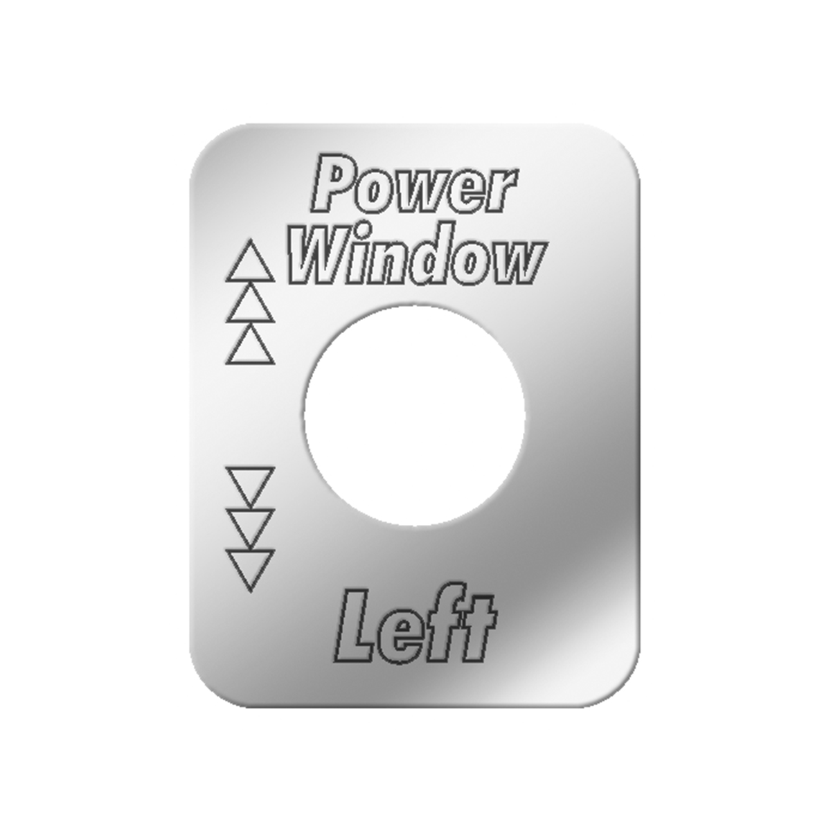 #68562 Power Air Operated Window - Left