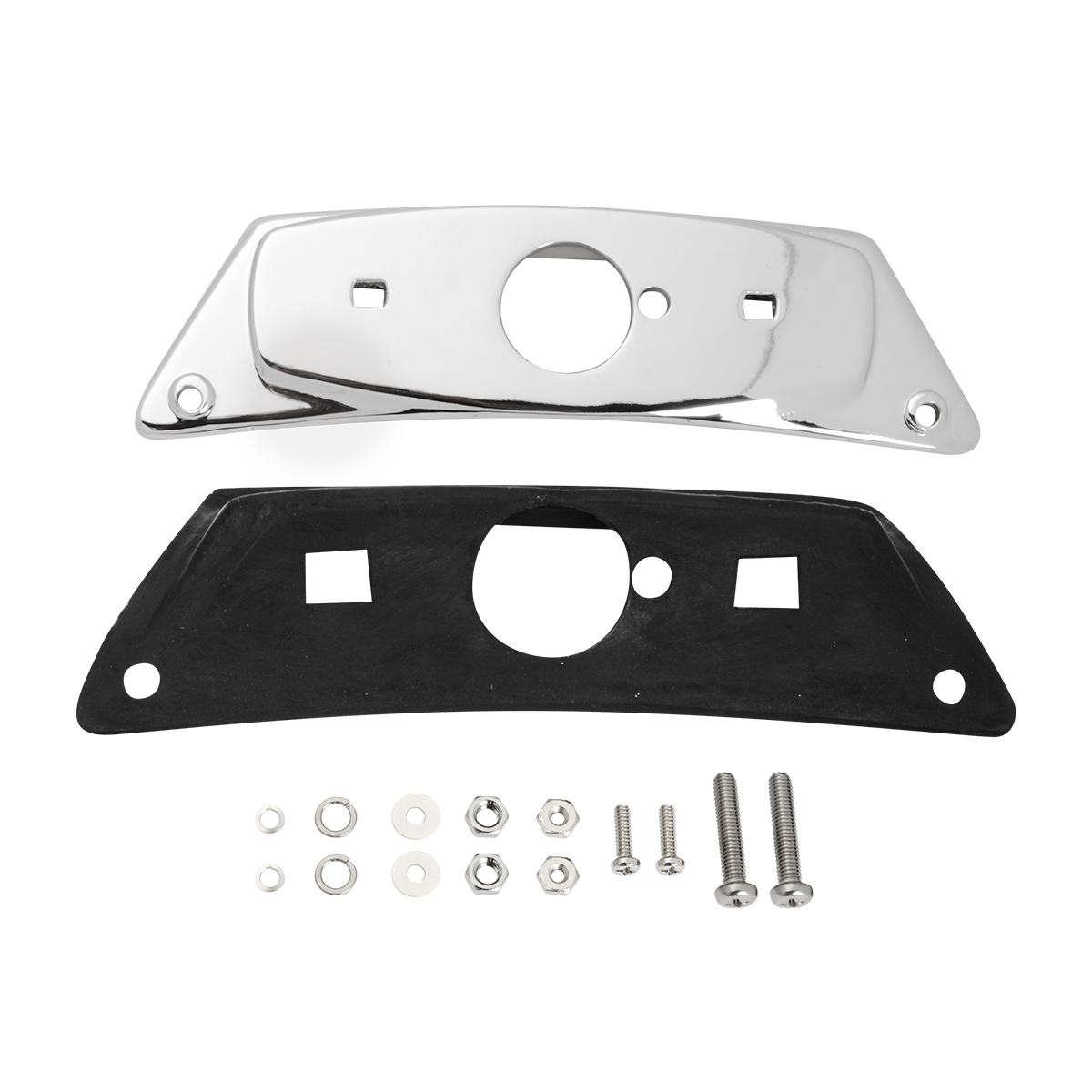 79580 Chrome Die Cast Front Fender Bracket Only