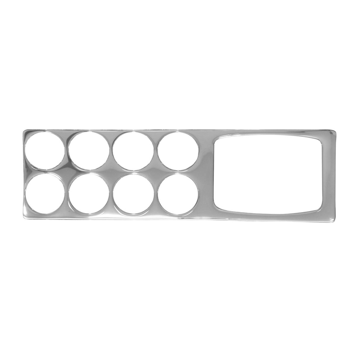 66941 KW Chrome Soft Plastic Gauge Trim with Navigation