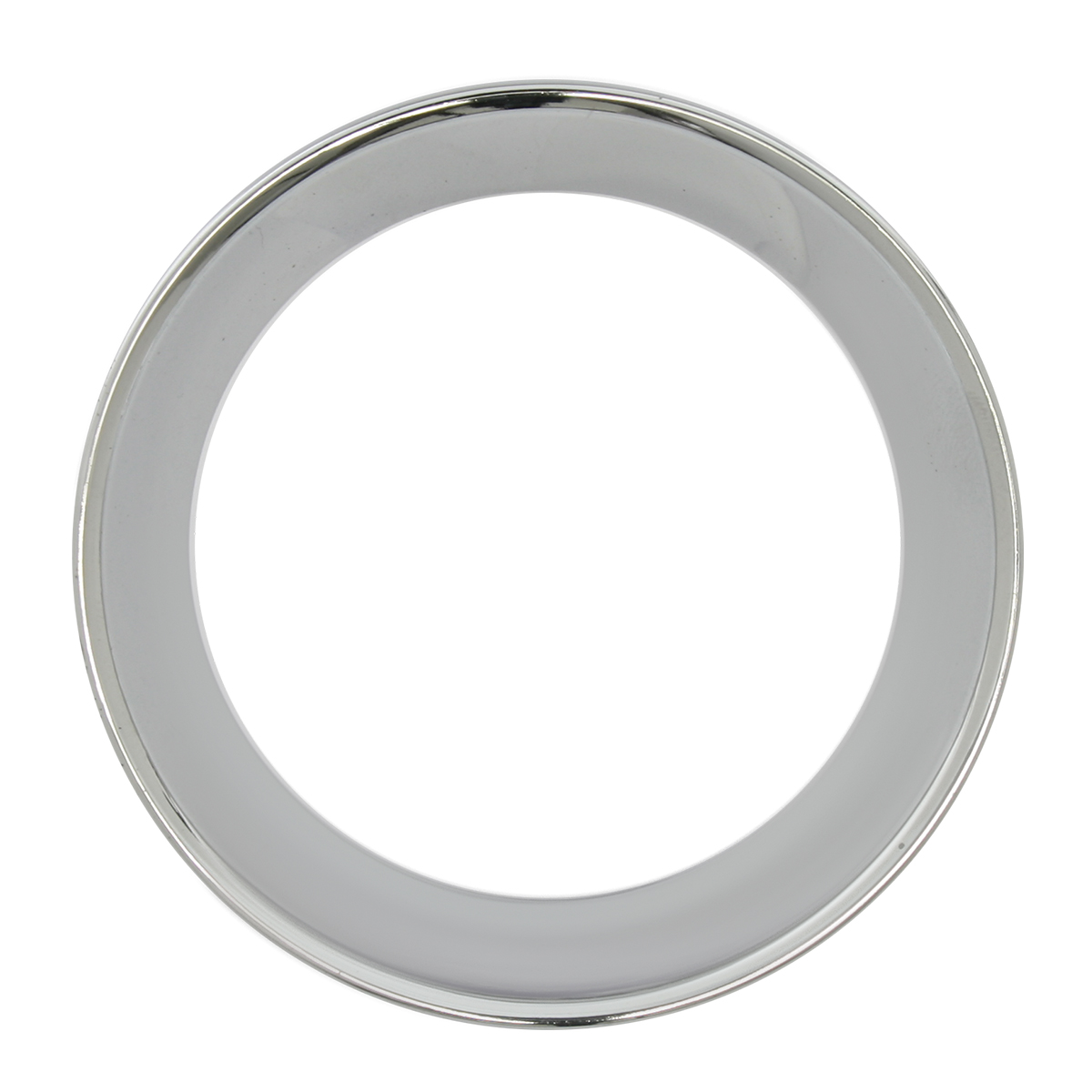 66945 Chrome Plastic Small Gauge Cover for KW