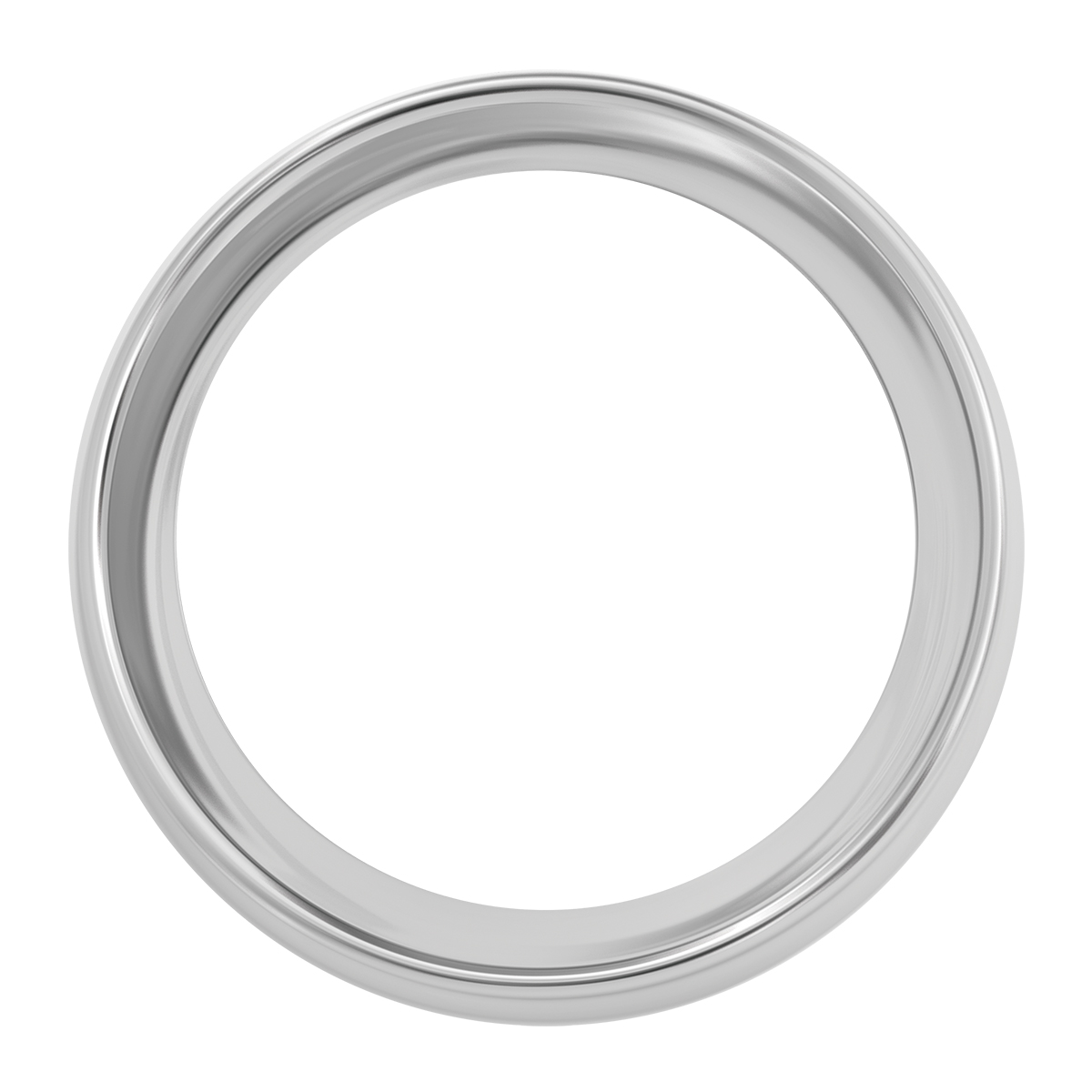 68160 Chrome Steel Small Snap-On Gauge Cover for KW