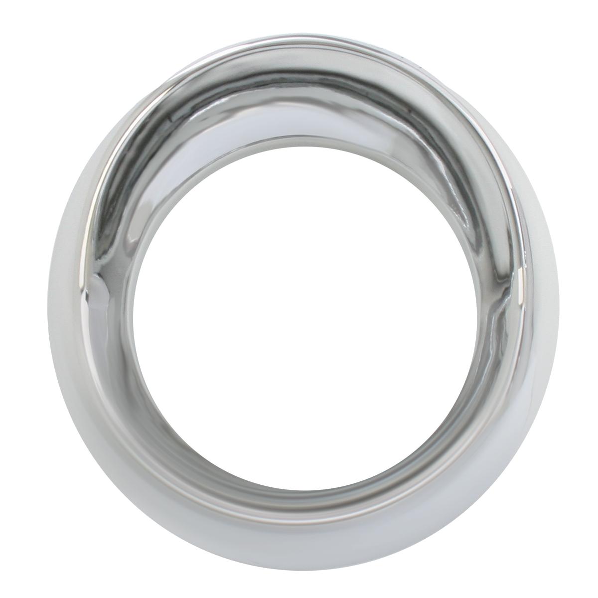 68225 Chrome Plastic Speed/Tachometer Snap-On Gauge Cover w/ Visor for KW