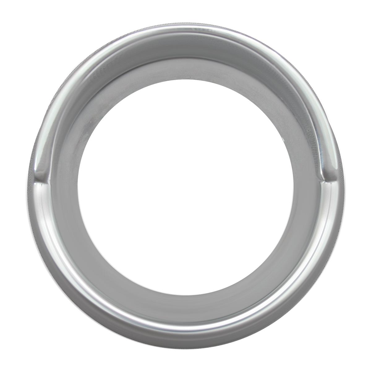 68390 Chrome Plastic Small Snap-On Gauge Cover w/ Visor for KW