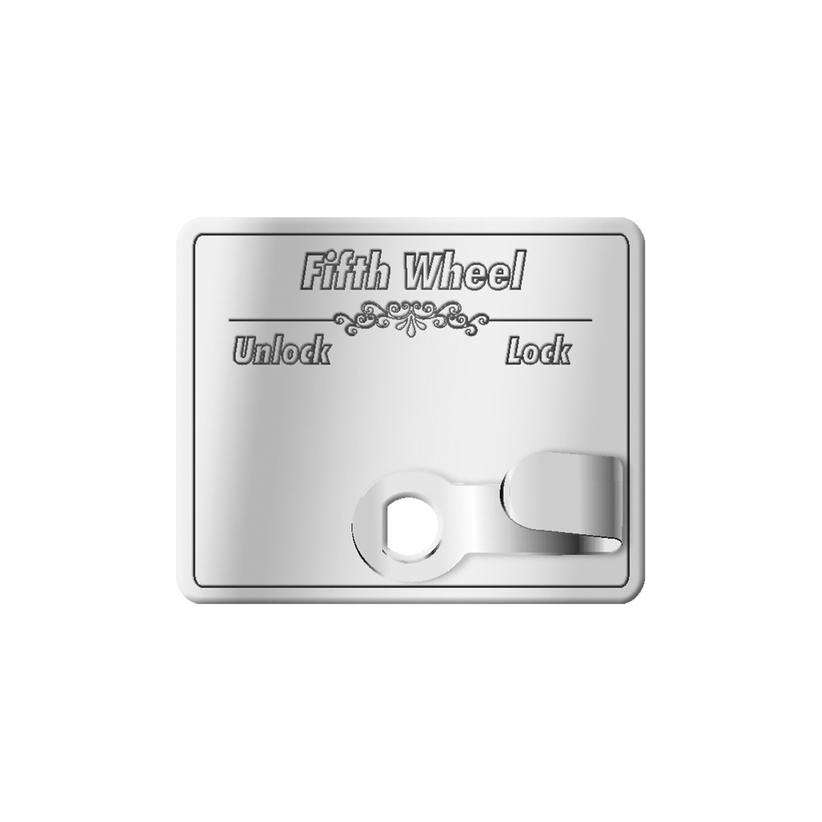68612 Stainless Steel Fifth Wheel Switch Guard for KW