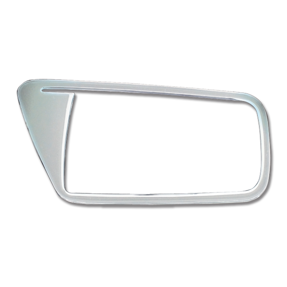 GG Grand General 68923 Chrome Plastic Driver Door Ring for Kenworth Early-2006 Wand T Model