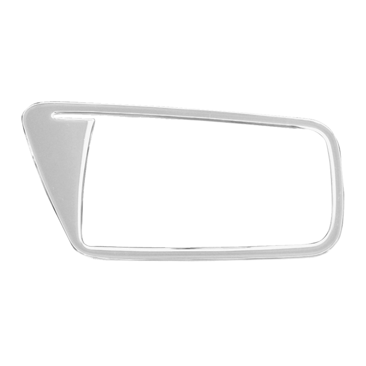 68929 KW Chrome Soft Plastic Driver Side Door Ring