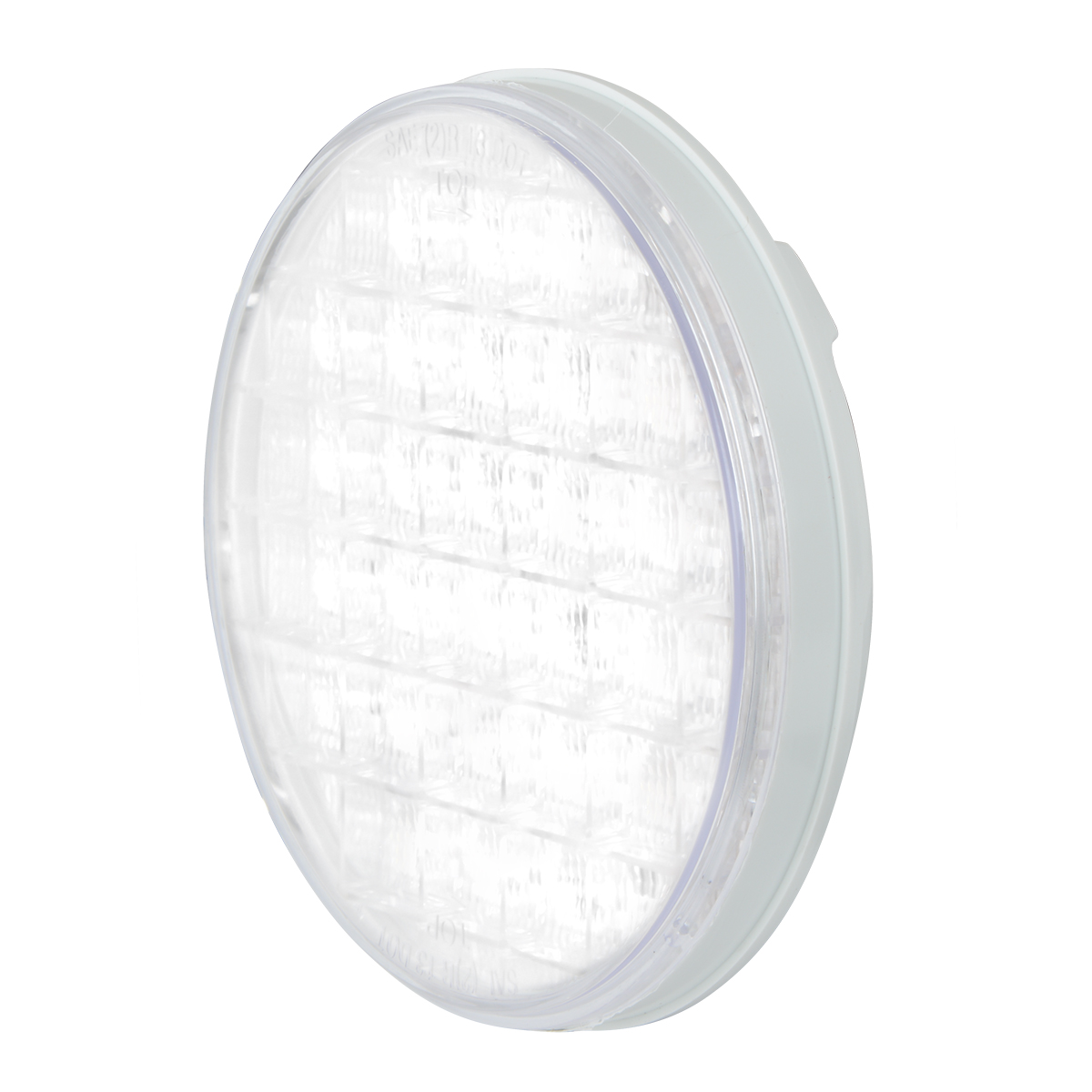 "4"" Smart Dynamic LED Light in White/Clear"