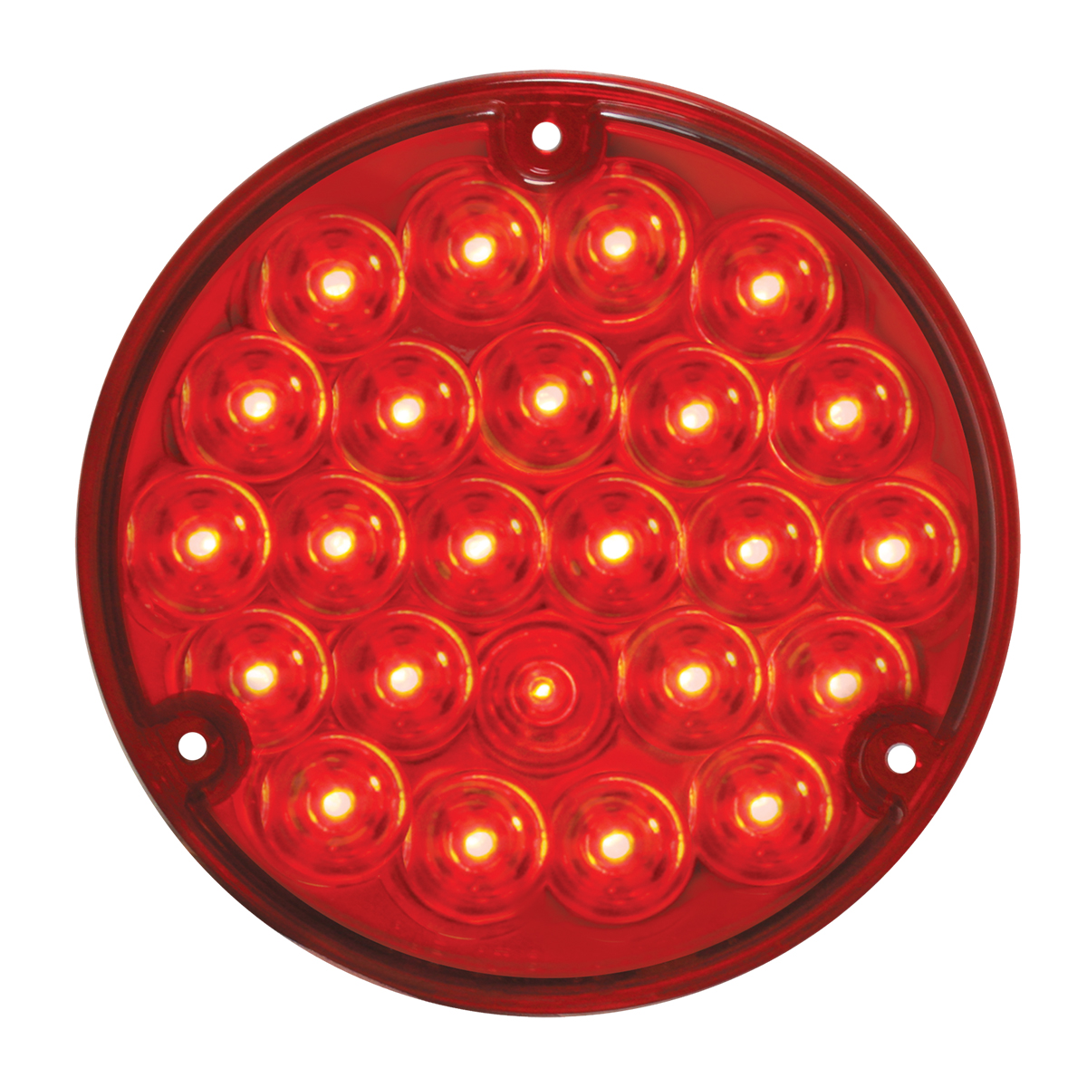 "76152 4"" Pearl LED Load Light in Red/Red"