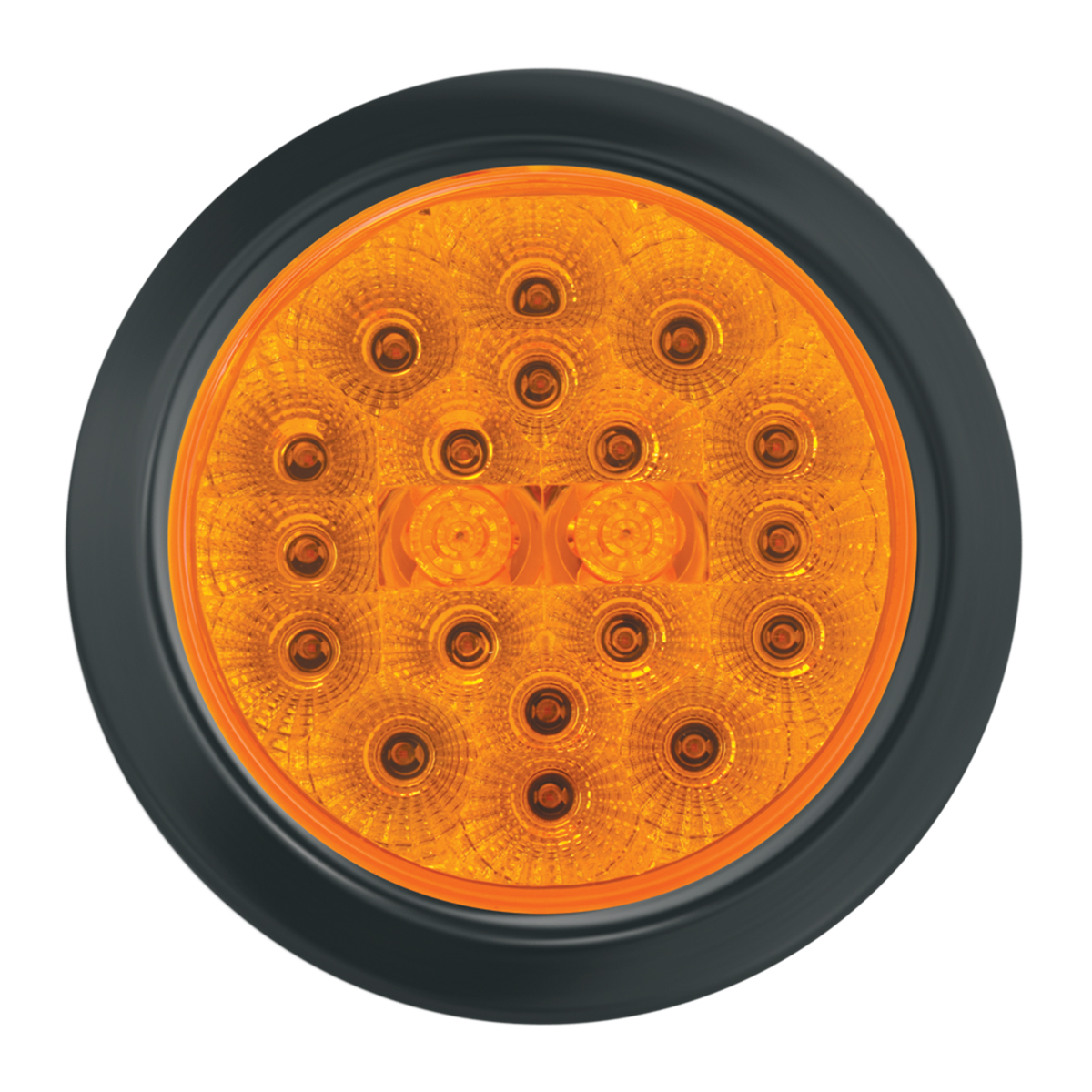 """4"""" Spyder LED with Black Rubber Grommet"""