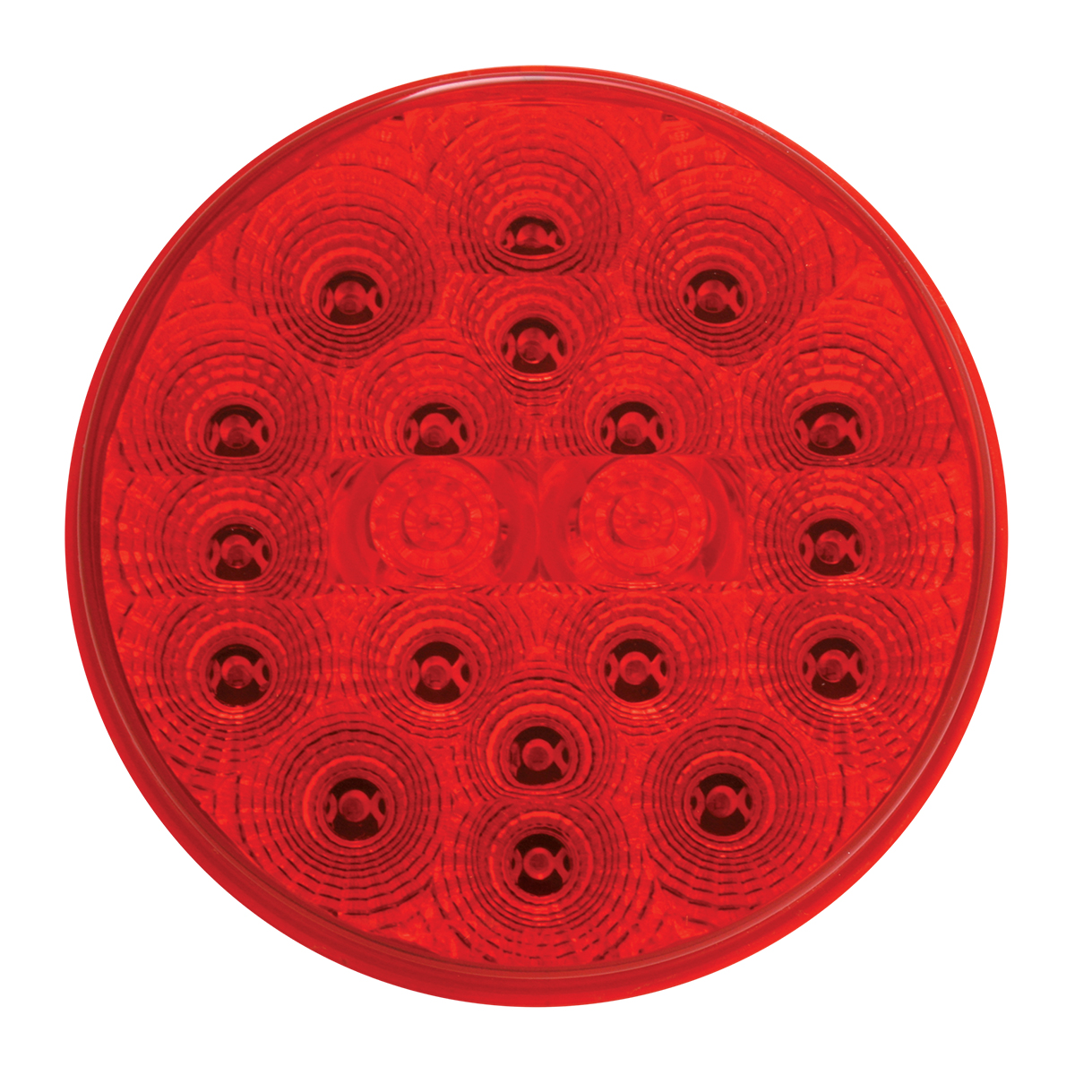 "77093 4"" Spyder LED Light in Red/Red"