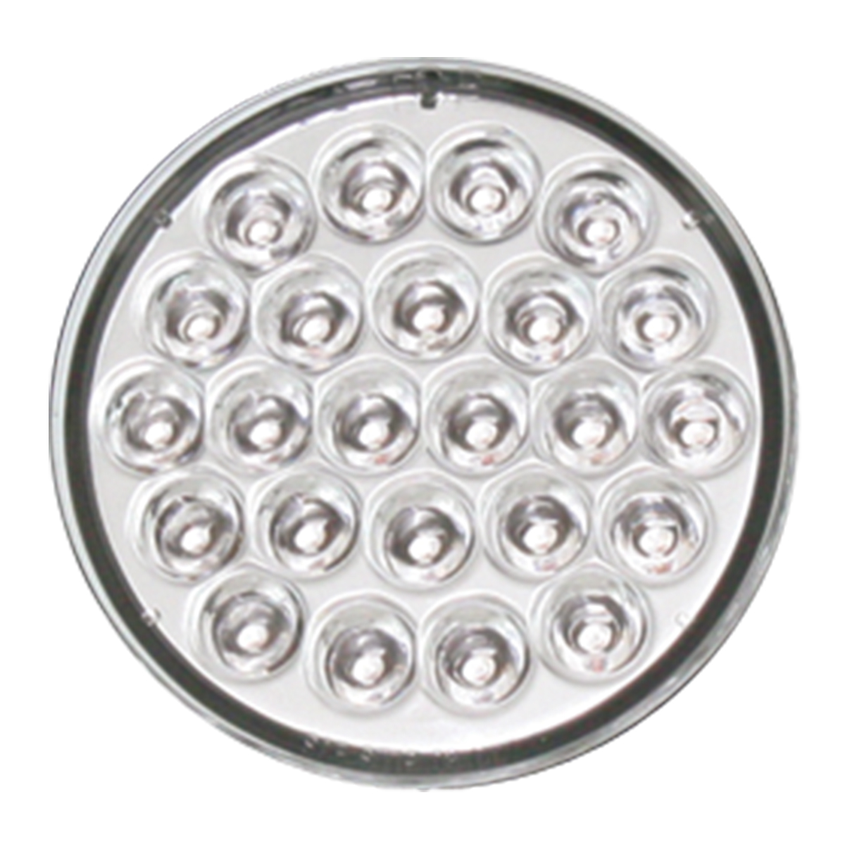 "4"" Pearl LED Light in Clear Lens"