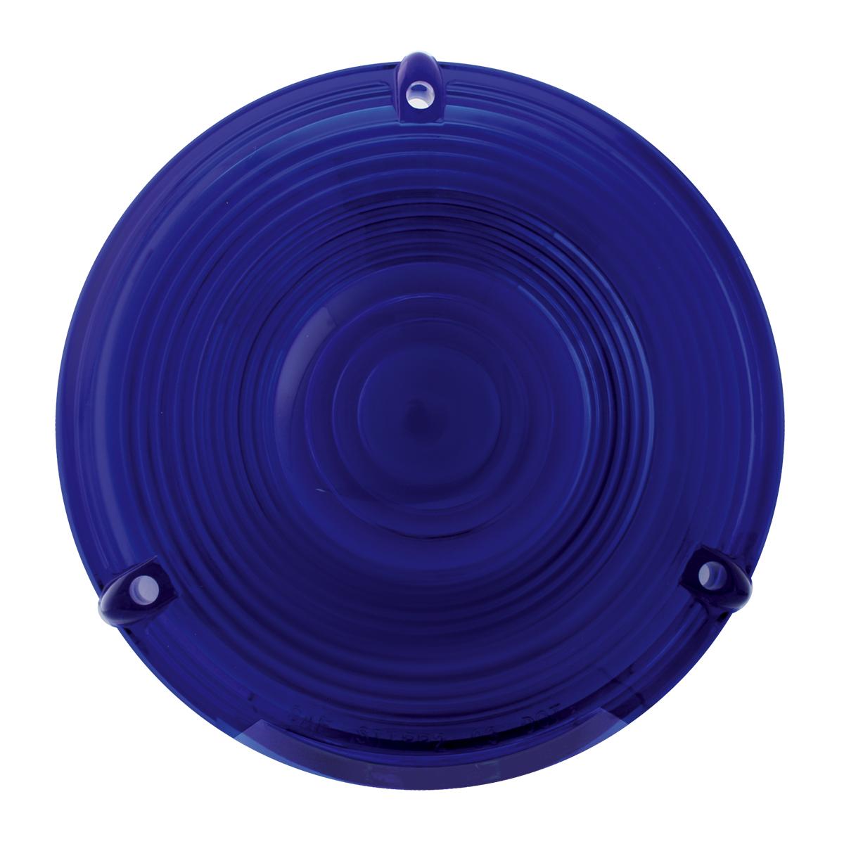 """#80302 4"""" Flange Mount Light - Blue Lens Only"""