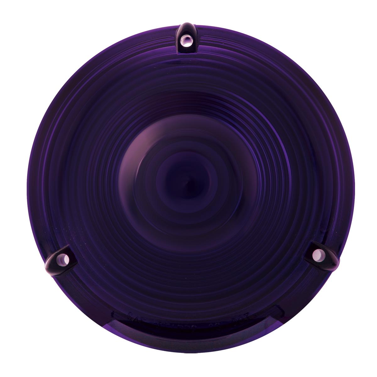 """#80308 4"""" Flange Mount Light - Purple Lens Only"""