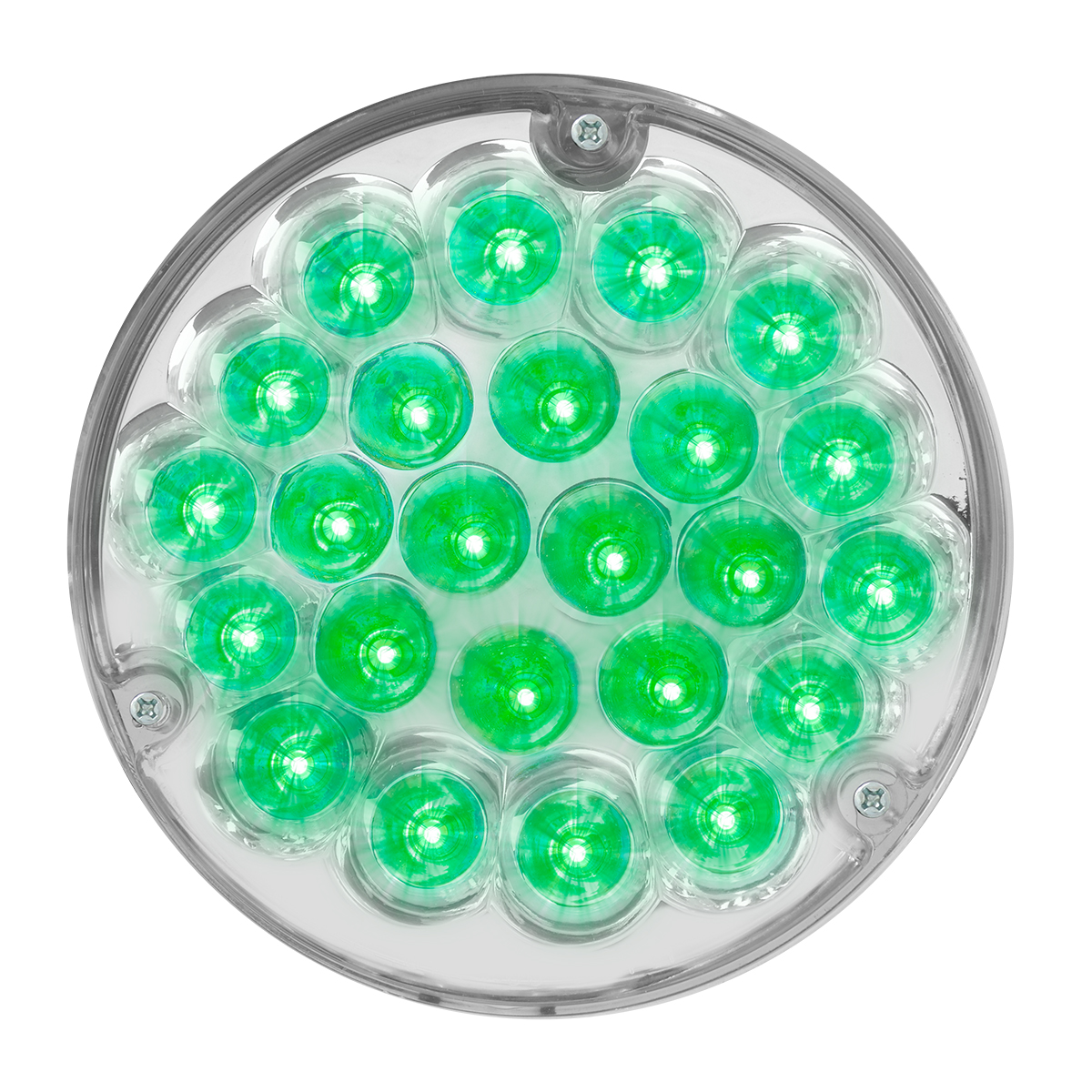 "82276 4"" Pearl LED Light Only in Green/Clear"
