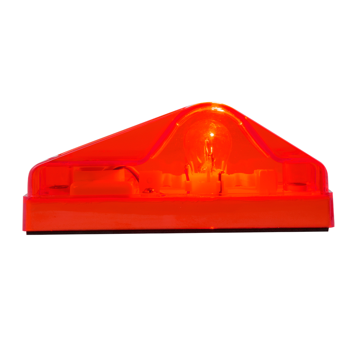 #87013 Side Mount Turn and Marker Red Light Only - Side View