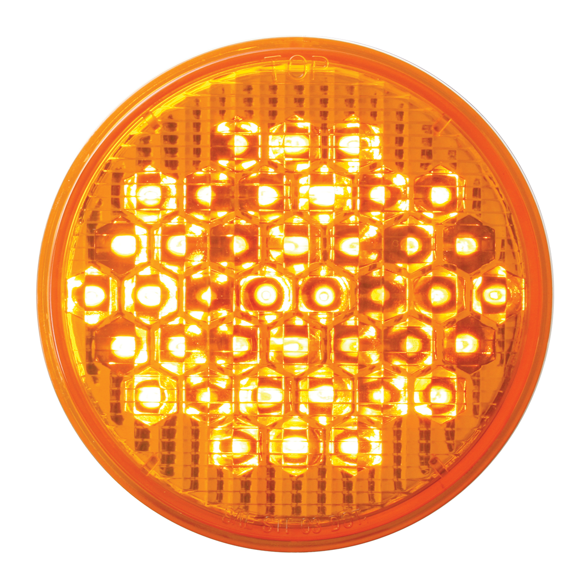 "87702 4"" High Count LED in Amber/Amber"