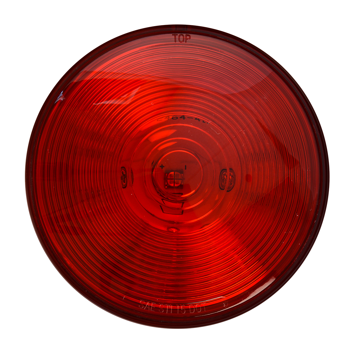 "75922 Red/Red 4"" Single LED Light"