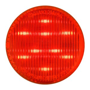 """75992 2.5"""" Dual Function LED Light in Red/Red"""