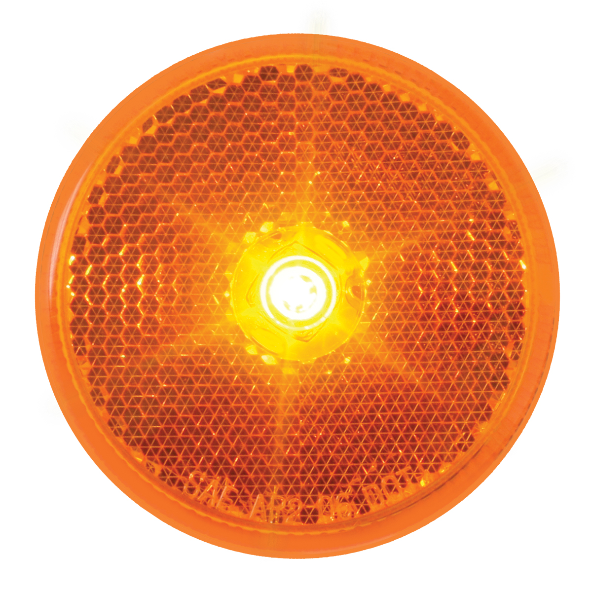 "76420 2.5"" Single LED Marker Light in Amber/Amber"