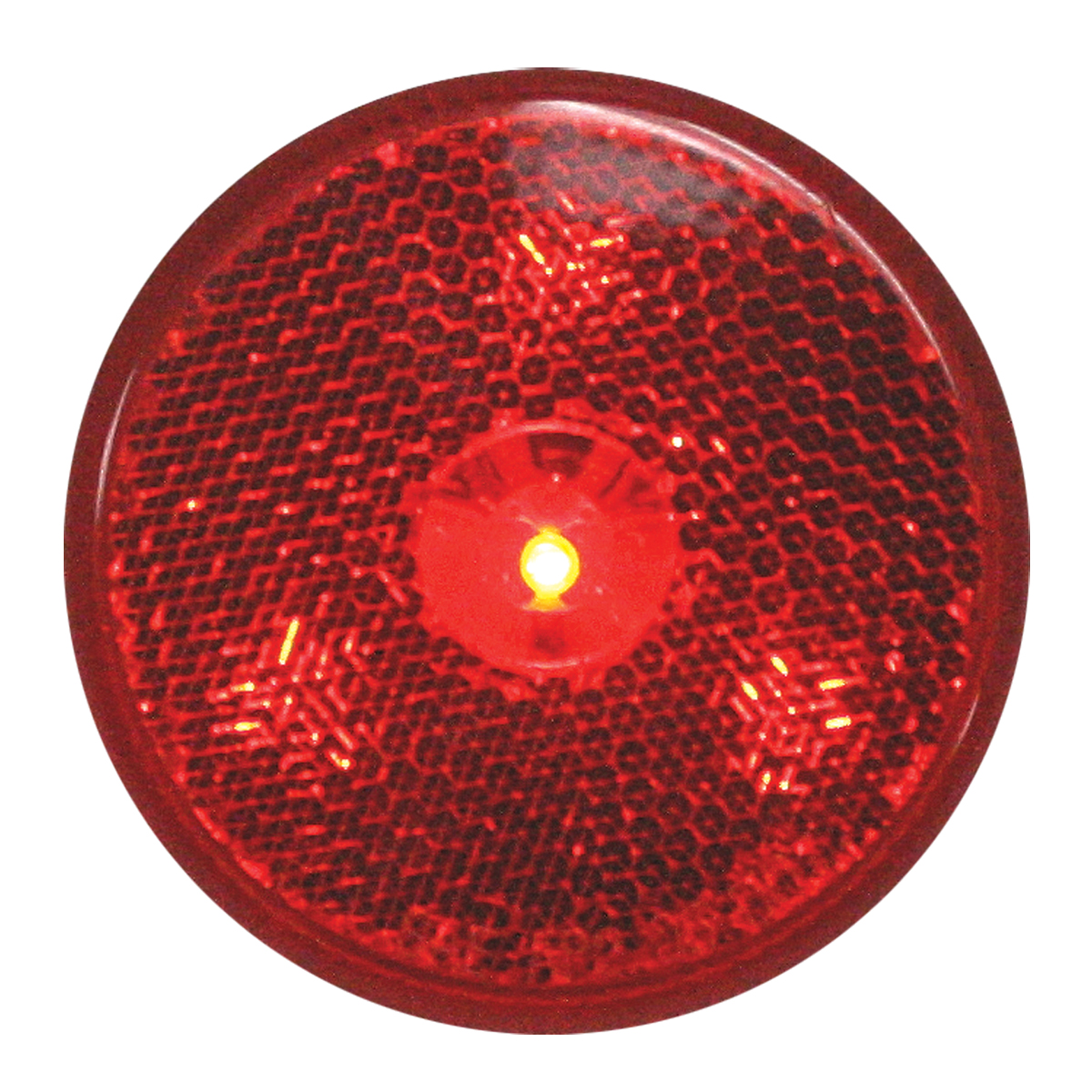 "76972 2.5"" Reflector Style LED Maker Light in Red/Red"