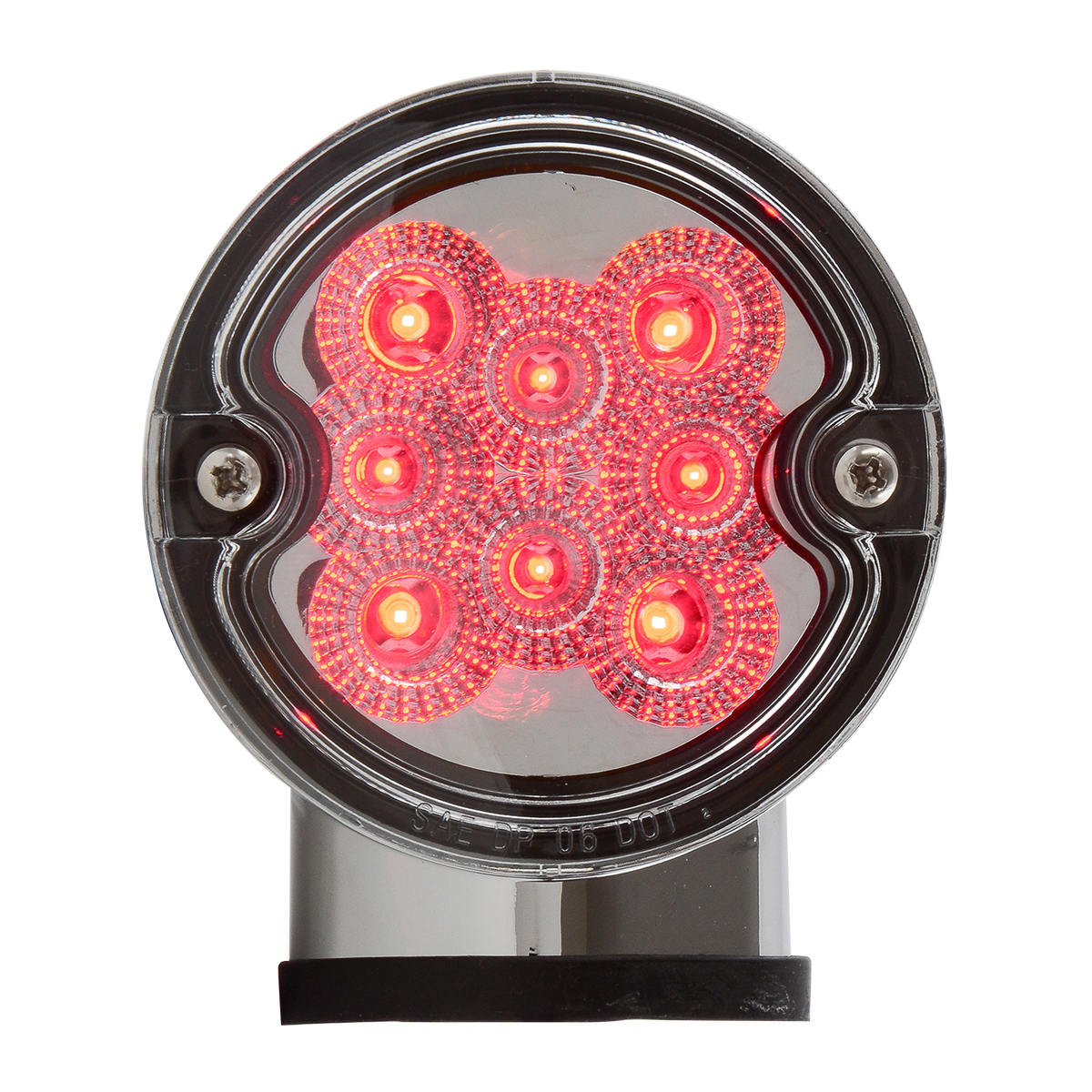 77253 Single Face Projected Spyder LED Pedestal Light