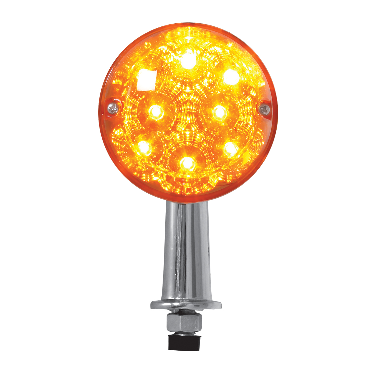 77804 Single Face Honda Spyder LED Pedestal Light in Amber/Amber