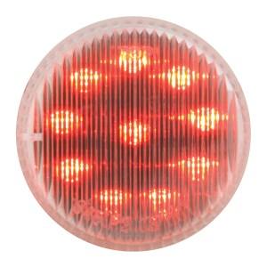 "79288 2"" Fleet LED Marker Light in Red/Clear"