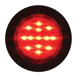 """79314 2.5"""" Fleet LED Marker Light with Black Rubber Grommet"""
